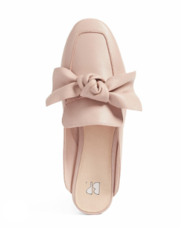 Blush Bow Mules -