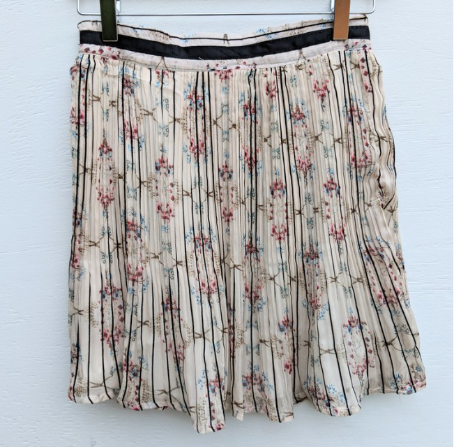 Short Floral Skirt | Ademurelife Fashion Blog