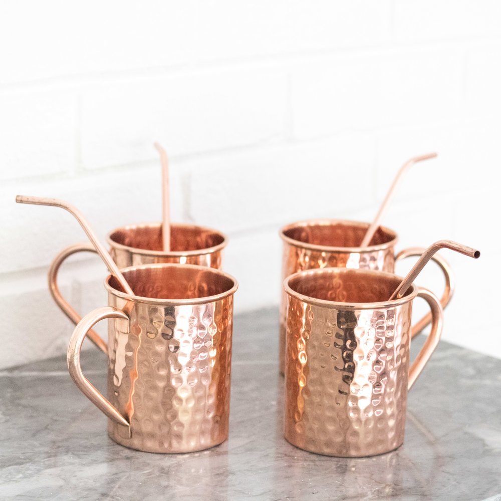 Copper Drink Glasses | Ademurelife
