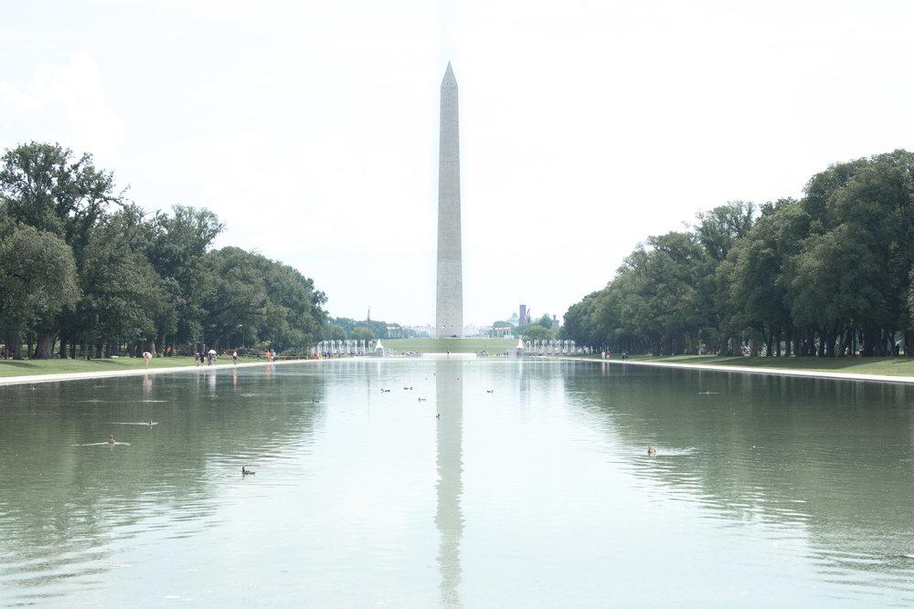 The Washington Monument | Demure Fashion Blog