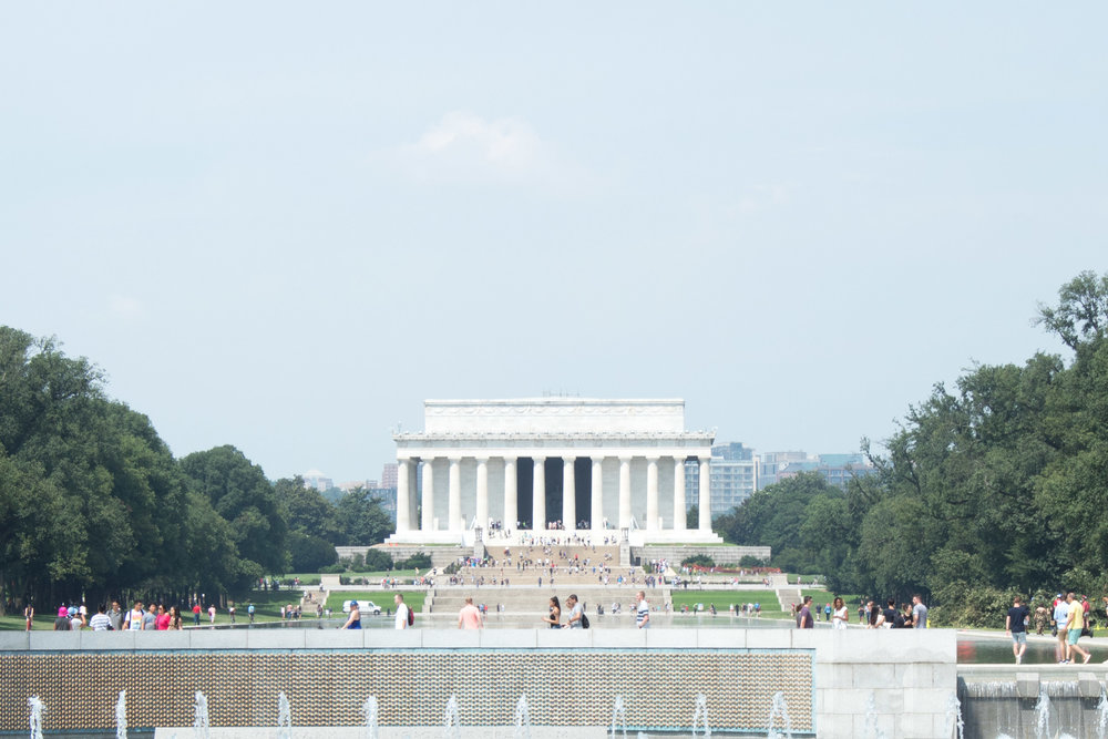 The Lincoln Memorial | Demure Fashion Blog