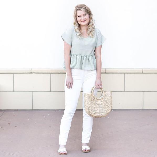 White Sandals Target Steven Madden Dupes | Demure Fashion Blog