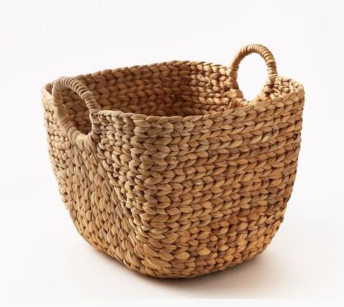 West Elm Large Handwoven Basket
