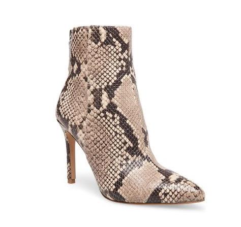 Snake Skin Booties | Demure Fashion Blog