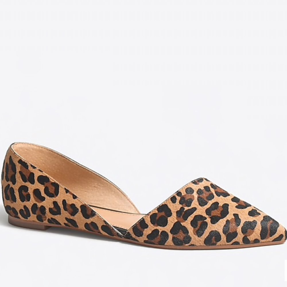 Leopard Print Flats | A Demure Life
