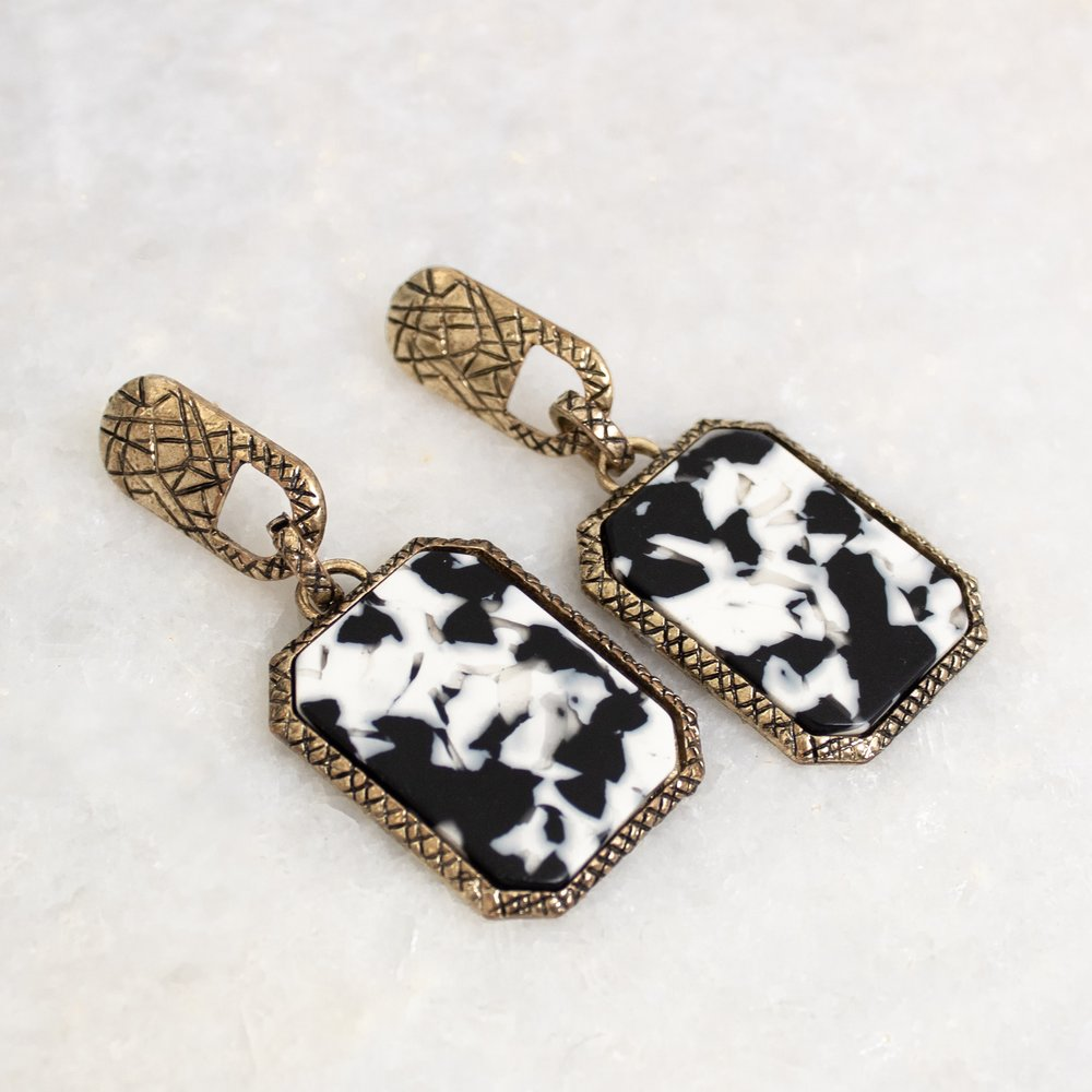 Baroque Style Earrings   A Demure Life