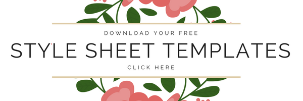 Download Free Style Sheet Templates