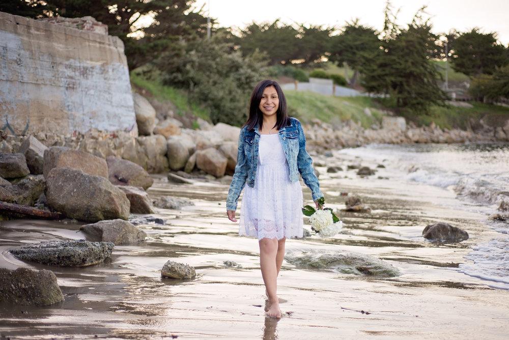 Soledad High School Senior Pictures, Monterey Beach, CA