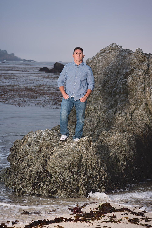 Palma High School Senior Pictures, Point Lobos, Carmel, CA