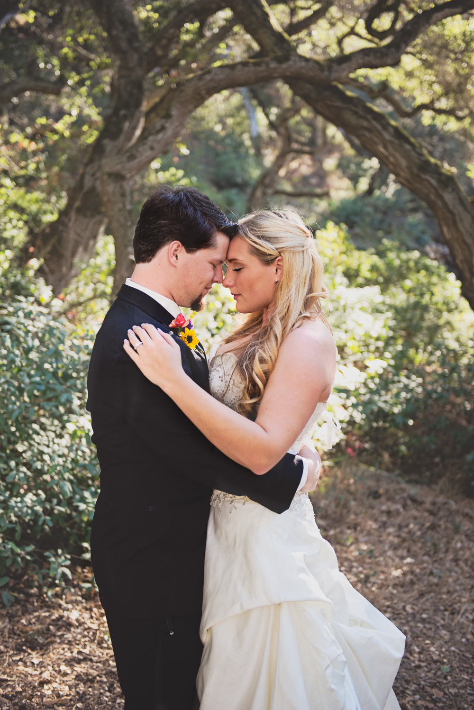 Outdoor wedding photos, Salinas, Ca