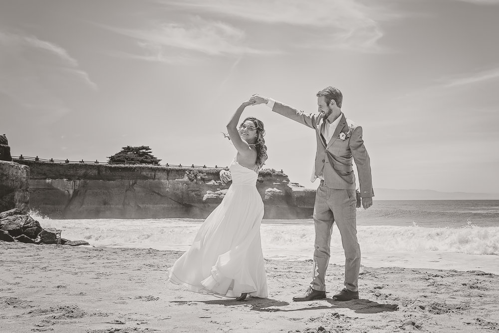 Santa Cruz Beach Wedding,