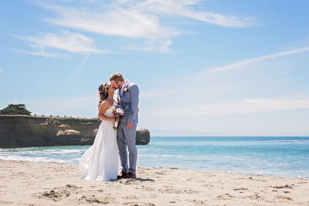 Beach Wedding Photography, Santa Cruz, CA