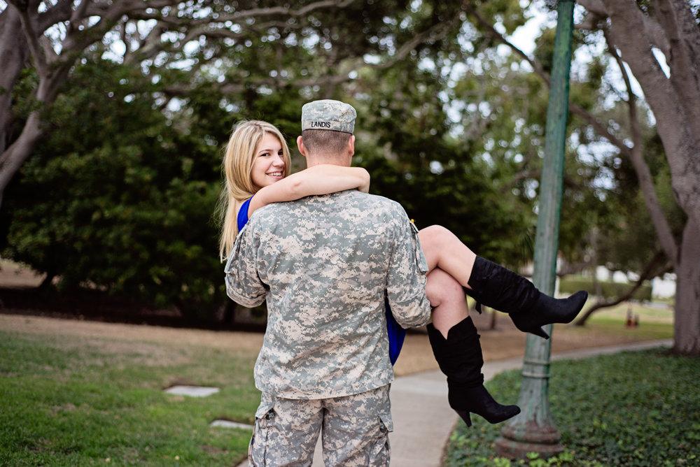 Military Wedding Photographer, Monterey, CA