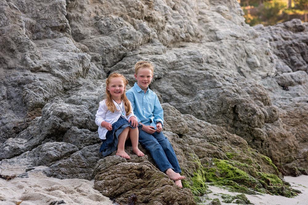 sibling portraits, Monterey, Ca