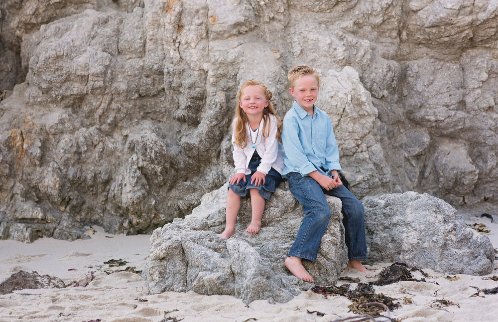 Family Pictures, Point Lobos, Carmel, CA