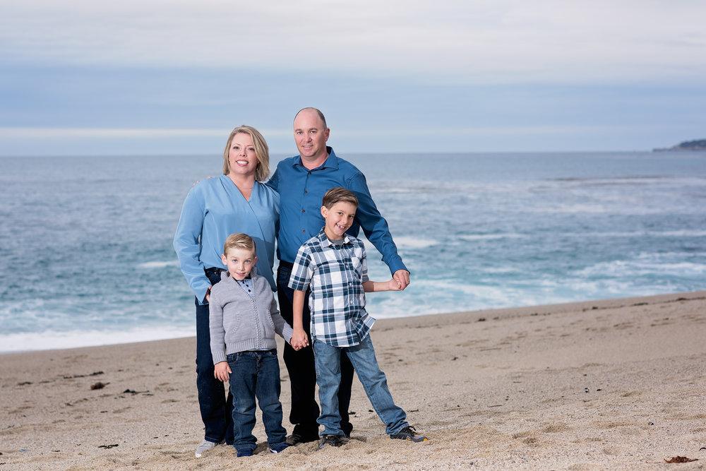 Camel Beach Family Photography