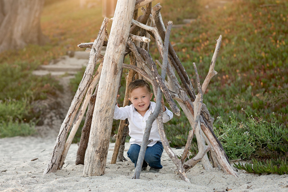 Children's Photographer, Carmel Beach, CA
