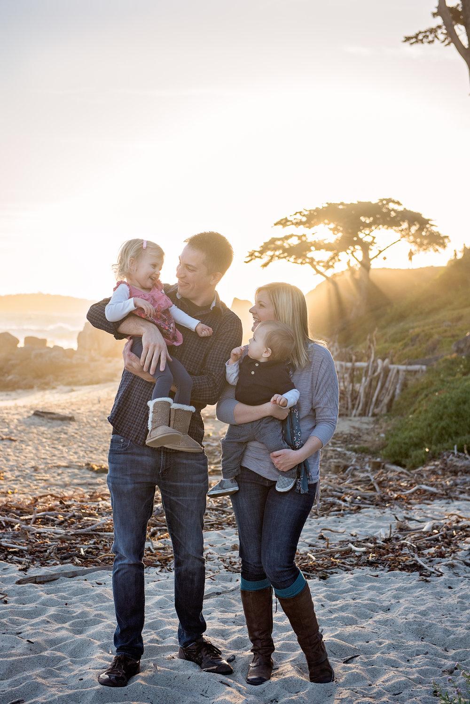 Carmel Family Photographer, Carmel Beach, CA