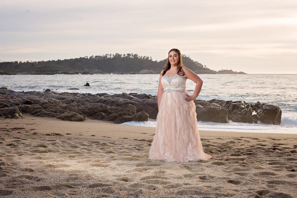 Camel Senior Photographer, Prom Dress, Carmel, CA