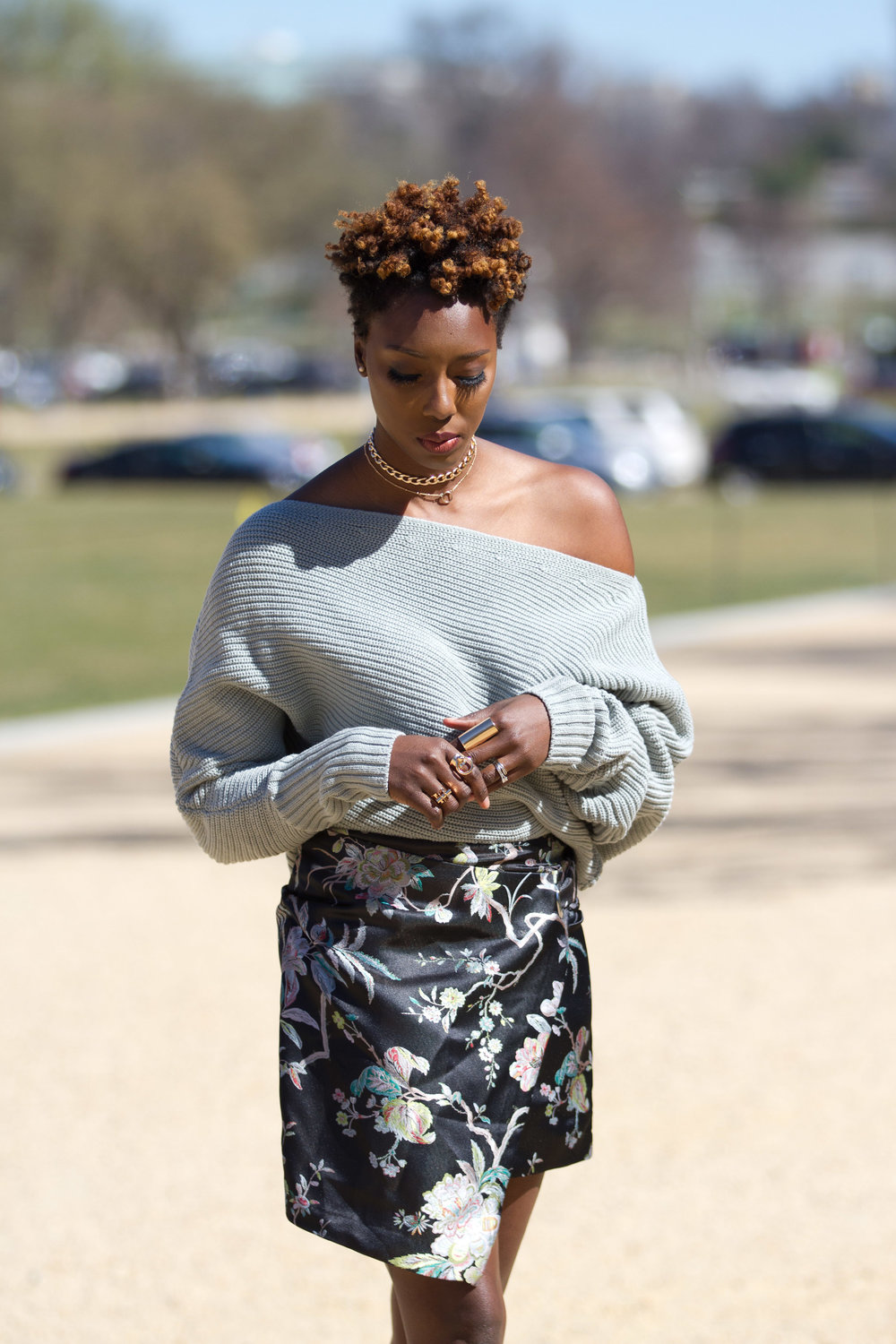 Off-the-shoulder-sweater-wrap-skirt-DC-blogger1