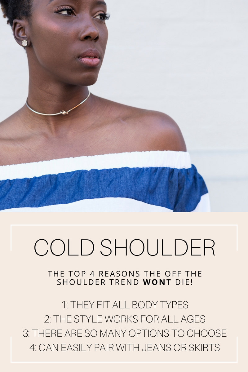 d43d8d98b7d I don t know many women who haven t pulled off the off the shoulder look.  All body types look good in an off the shoulder top- seriously it ...