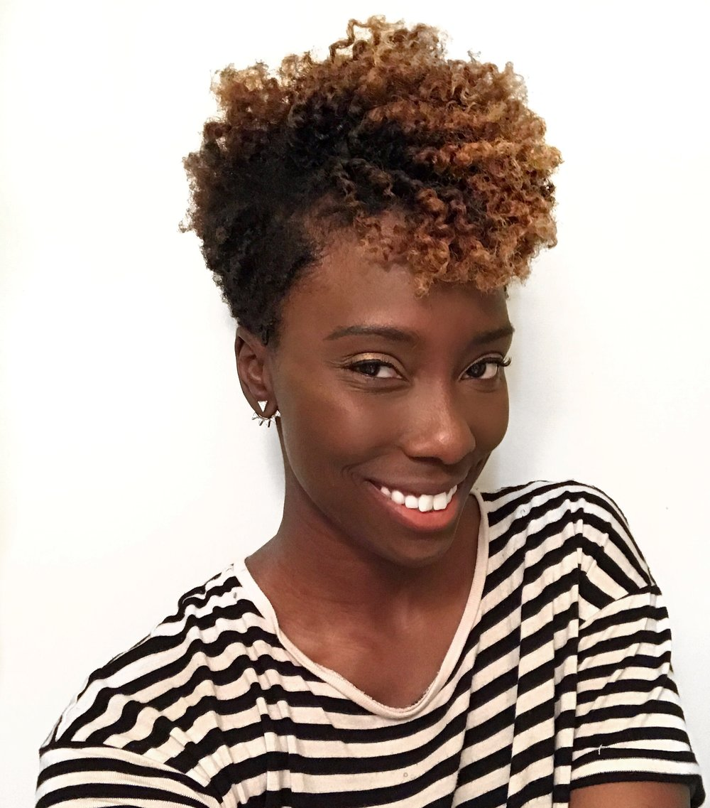 dayna-bolden-flat-twist-out-on-natural-hair-taper-cut-protective-styles