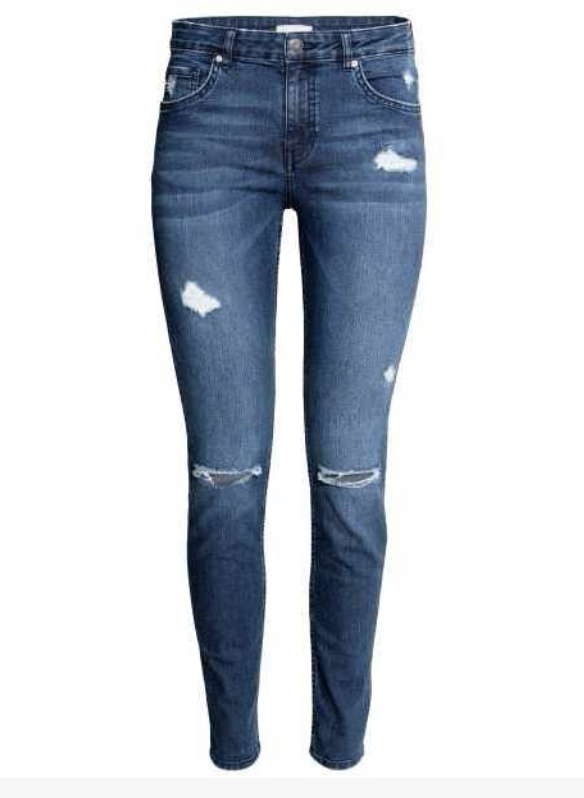 HM Distressed Skinny Jeans
