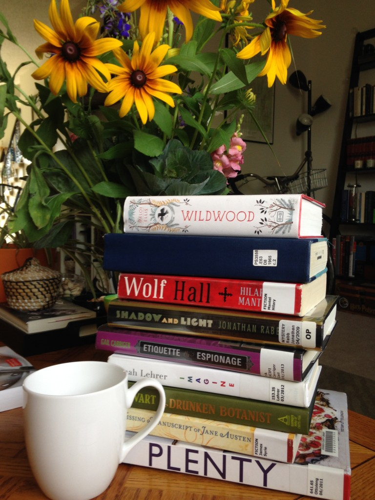 Summer Book Stack