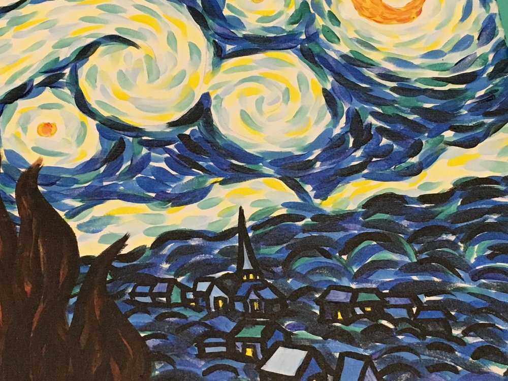 Starry Night...Wine and Design Style