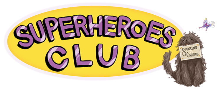 Superheroes Club Books