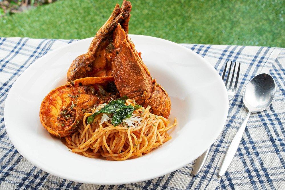 Crayfish Spaghetti