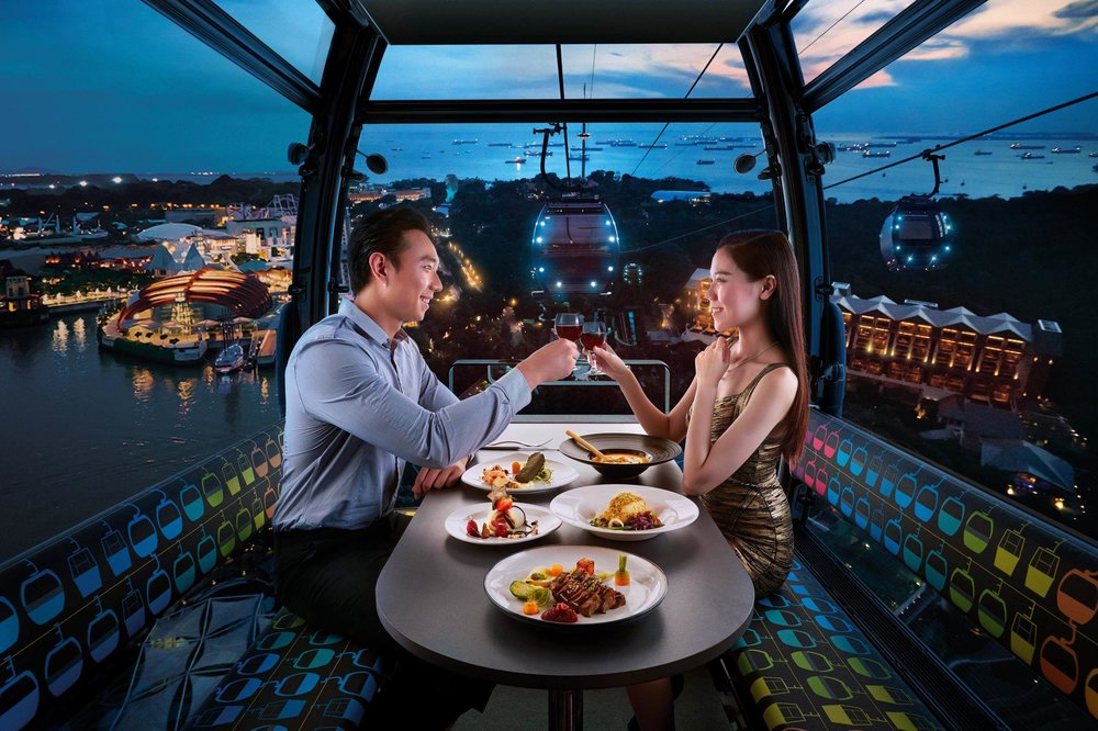 Image result for dining on cloud 9