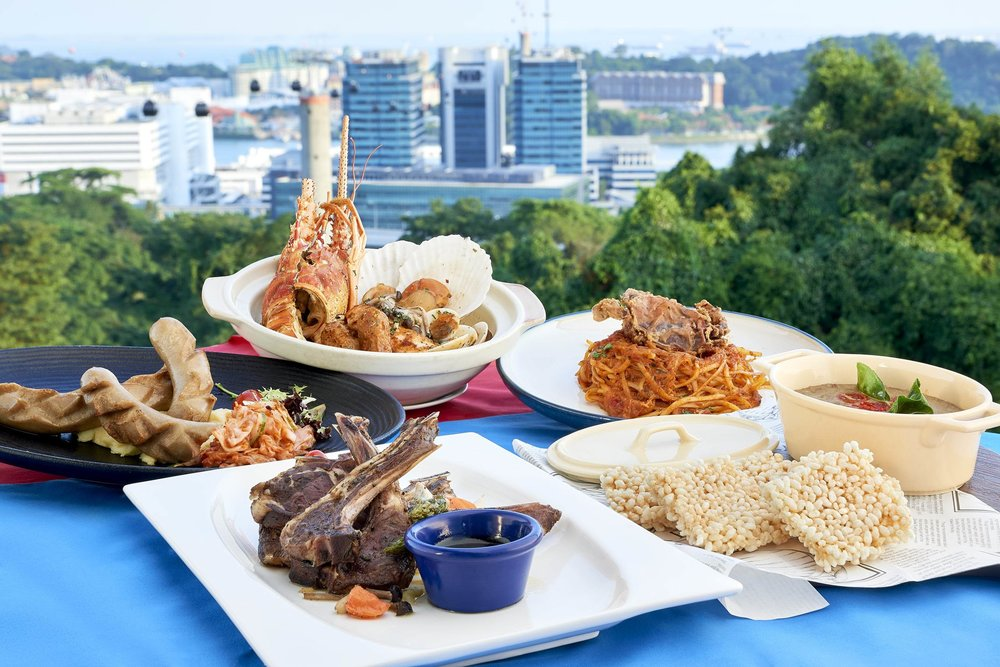 - 20% Off Total Bill at All One Faber Group F&B Outlets (excl. Cable Car Sky Dining)