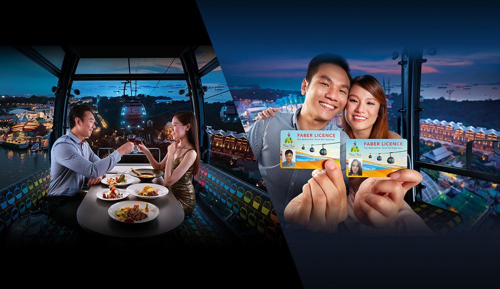 5th Prize: Cable Car Dining & Faber Licence Individual Membership for 2