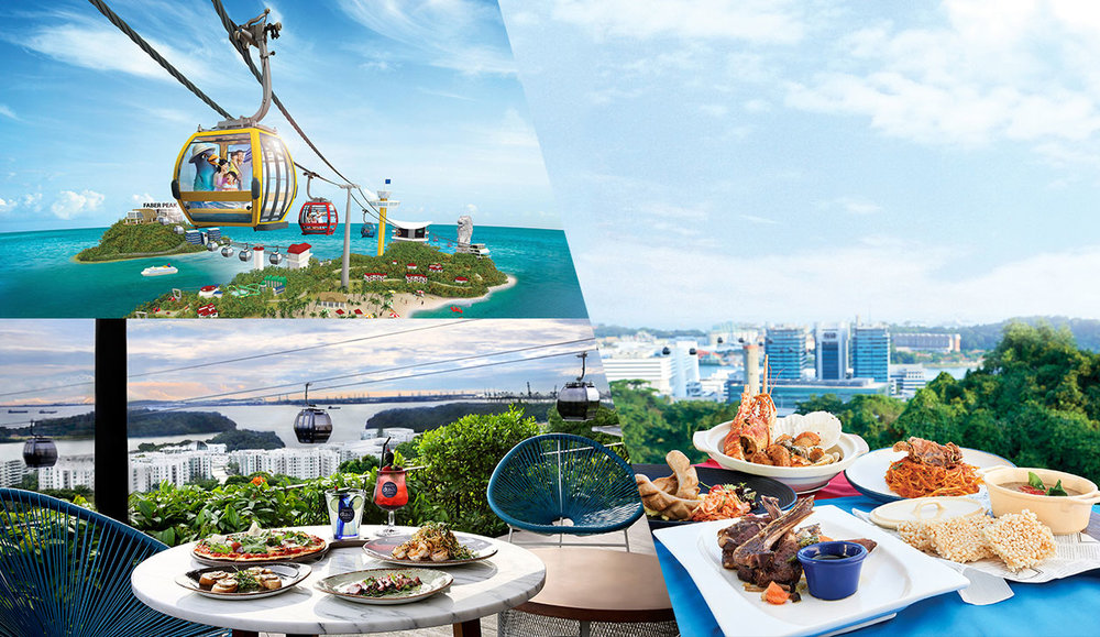 9th Prize: A pair of Singapore Cable Car Sky Pass & $100 One Faber Group Dining Vouchers