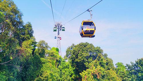 Singapore Cable Car Sky Network