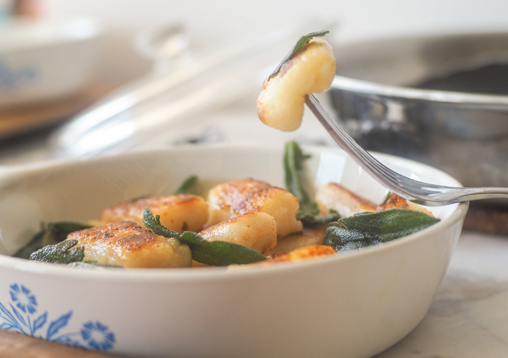 Pan-Fried Gnocchi with Brown Butter and Sage