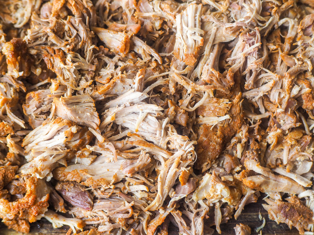 Pulled Pork with Vinegar Sauce