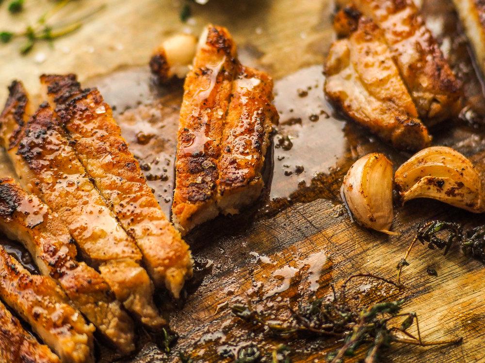 Pan-Roasted Pork Chops