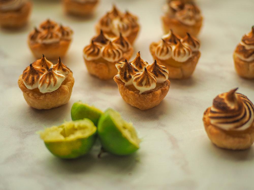 Key Lime Meringue Tartlets