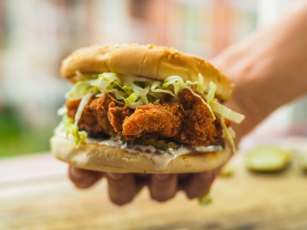 Fried Chicken Sandwiches