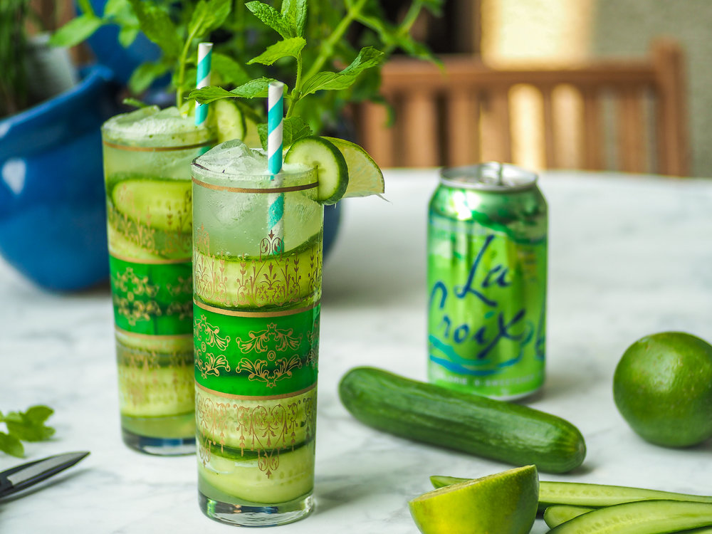 Cucumber-Lime Mojito