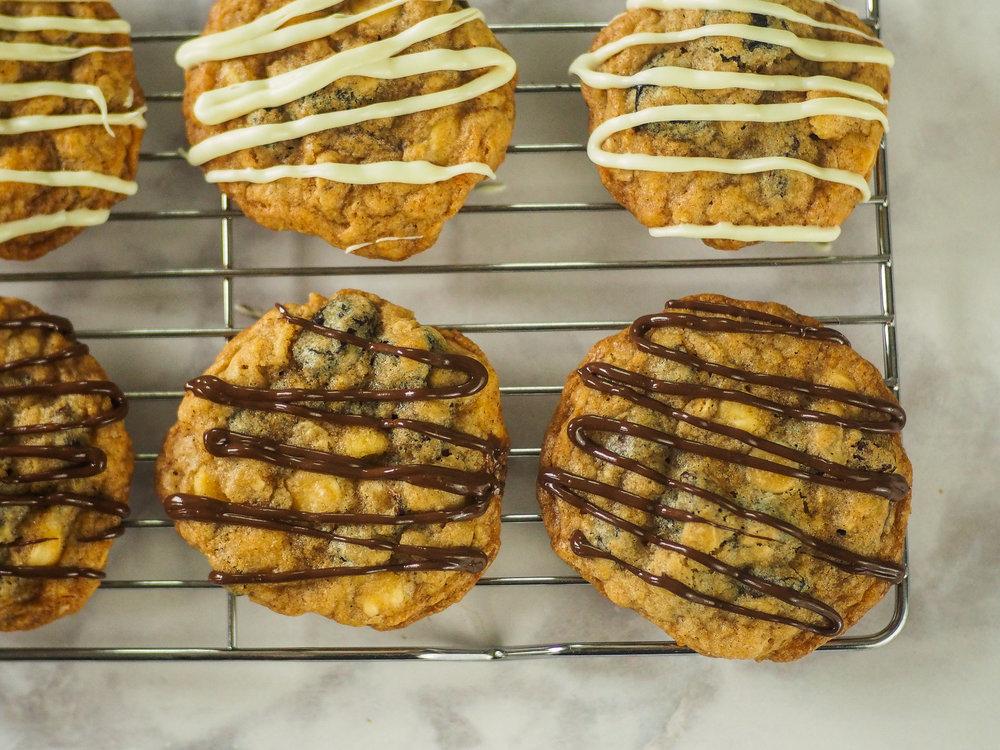Mixed Bag Oatmeal Cookies