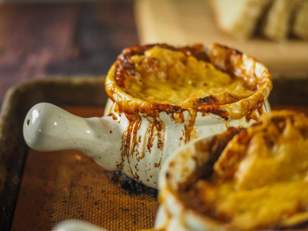 Tartine French Onion Soup