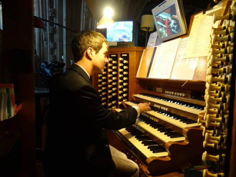 The organ at Ely Cathedral