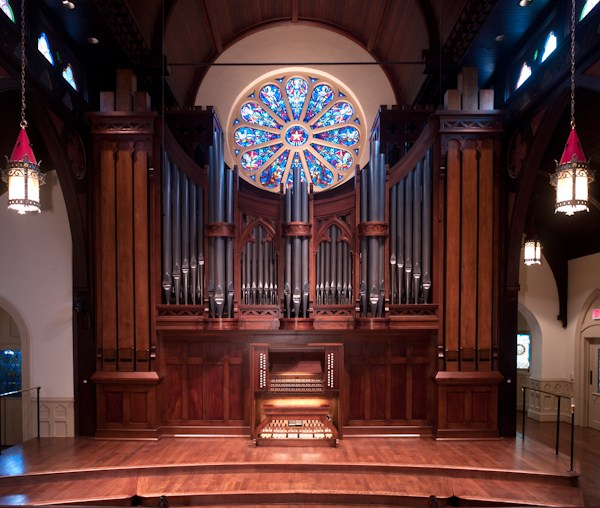 The Opus 136 C.B. Fisk Organ at St. Peter's