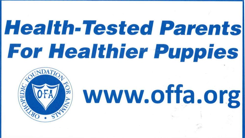 Ask us for our OFA certifications.