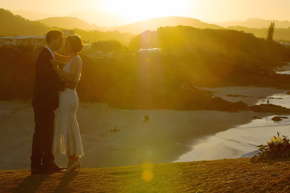 Beautiful Wedding photography in Cabarita Beach, NSW, Australia