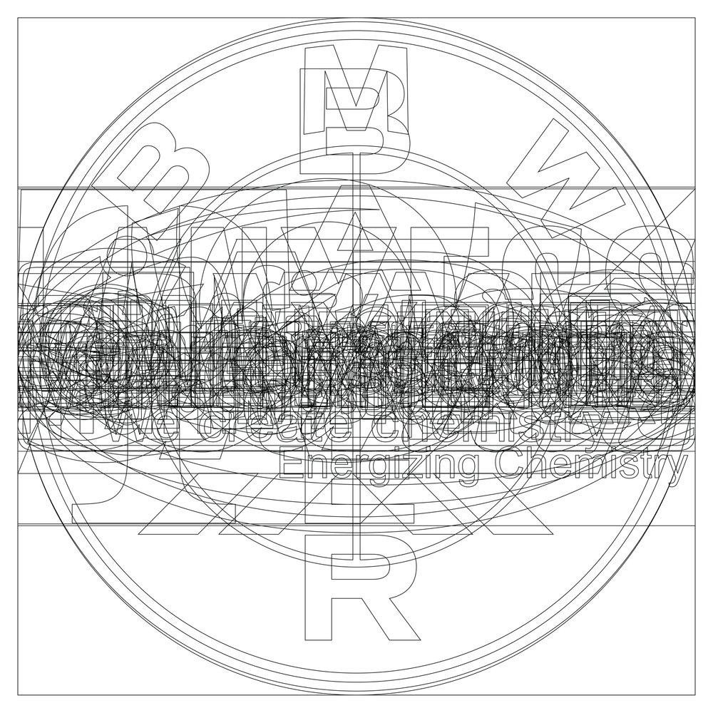 """""""Logos: Deutscher Aktienindex"""" digital print 20""""x20"""" 2015"""