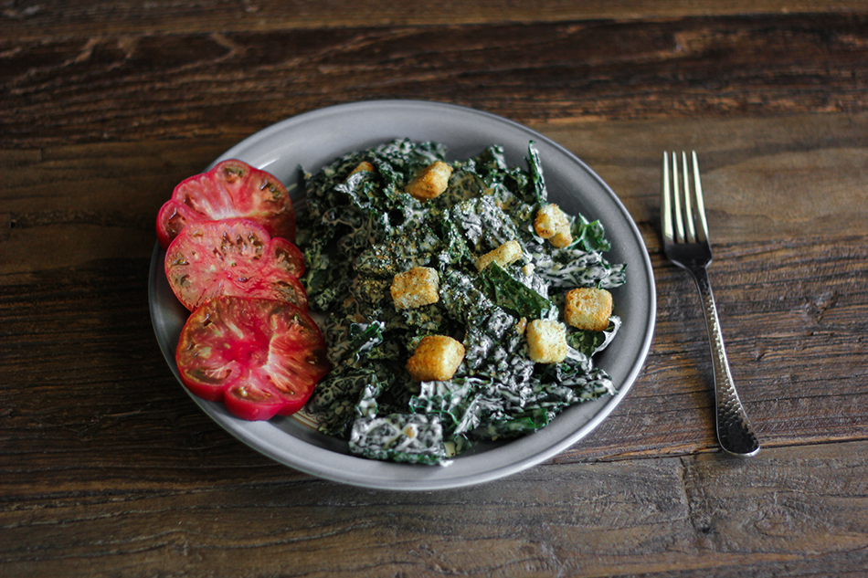 Vegan Kale Salad